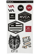 RVCA 10 Sticker Pack 2