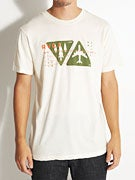 RVCA Air And Land Vintage Dye T-Shirt