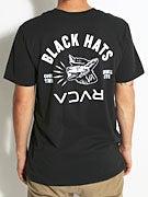 RVCA Black Hats T-Shirt