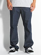 RVCA Chev Extra Stretch Denim Jeans  Classic Blue