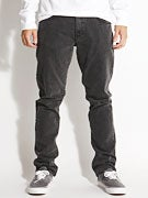 RVCA Daggers Denim Jeans  Faded Black