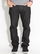 RVCA Daggers Denim Jeans  Raw Black