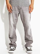 RVCA Daggers Denim Jeans  Gray Ghost