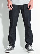 RVCA Daggers Denim Jeans  Raw Blue