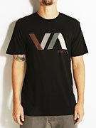 RVCA Diagonals VA Vintage Wash T-Shirt
