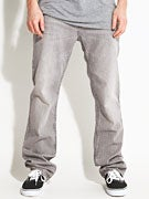 RVCA Regulars Denim Jeans  Gray Ghost