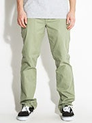 RVCA All Time Chino Pants Oil Green