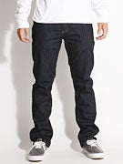 RVCA Regulars II Denim Jeans  Deep Indigo