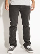 RVCA Regulars II Denim Jeans  Faded Black