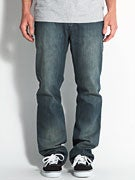 RVCA Regular Extra Stretch Denim Jeans  Dusty Blue