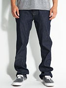 RVCA Regulars Denim Jeans  Raw Blue
