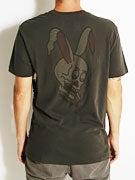 RVCA Rabbit Skull Overdye T-Shirt