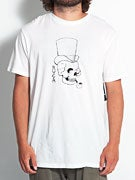 RVCA Smoking Skull T-Shirt