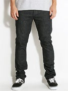 RVCA Spanky Extra Stretch Denim Jeans  Midnight Tinted