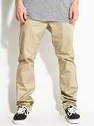 RVCA The Week-End Chino Pants  Khaki
