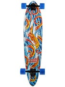 Riviera Big Red Bamboo Pintail Longboard  9.0 x 40