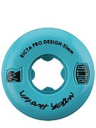 Ricta Huston Pro NRG 81b Teal Wheels