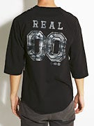Real Camo '00' 3/4 Sleeve T-Shirt
