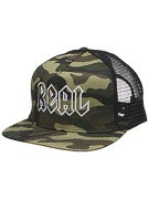 Real Deeds Camo Trucker Hat