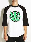 Real Devils Harvest 3/4 Sleeve Raglan T-Shirt