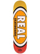 Real Team Oval Fade MD Deck  8.25 x 32