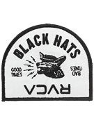 RVCA Black Hats Patch  Black/Grey