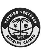 RVCA Nothing Ventured Patch  Black/White