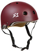 S-One Lifer CPSC Helmet  Maroon