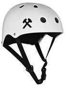 S-One Premium Skateboard Helmet  White