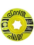 Sector 9 Nineballs 65mm Yellow Wheels