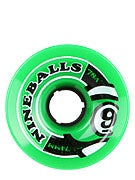 Sector 9 Nineballs 74mm Green Wheels