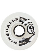 Sector 9 Nineballs 74mm White Wheels