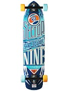 Sector 9 Carbon Flight Platinum Blue Complete  9.25x36