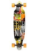 Sector 9 Drifter II Platinum Yellow/Black Comp 9.2x38