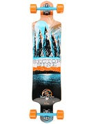 Sector 9 Faultline Platinum Orange Complete  9.75x39.5