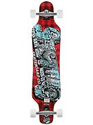 Sector 9 Mini Shaka Platinum Red Complete  9.75x40.25