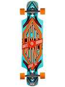 Sector 9 Sprocket Platinum Orange Complete  9.8 x 38.5