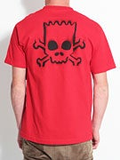 Santa Cruz Simpsons Bart Skull T-Shirt