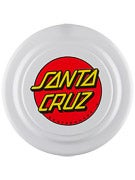 Santa Cruz Classic Dot Flying Disc Frisbee  White