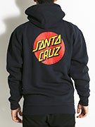 Santa Cruz Classic Dot Hoodzip
