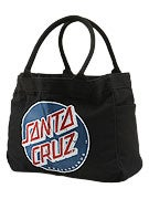 Santa Cruz Classic Dot Tote Bag  Black