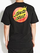 Santa Cruz Flaming Dot T-Shirt