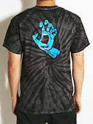 Santa Cruz Screaming Hand Spider Tie Dye T-Shirt