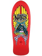 Santa Cruz SMA Natas Panther Red Deck  10.538 x 30.14