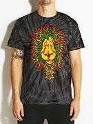 Santa Cruz Rasta Lion Spider Tie Dye T-Shirt