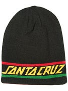 Santa Cruz Rasta Strip Long Shoreman Beanie