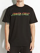 Santa Cruz Rasta Strip T-Shirt