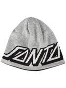Santa Cruz Strip Dot Reversible Beanie