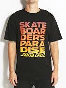 Santa Cruz Skateboarders Paradise T-Shirt