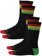 Santa Cruz Sundown 2 Pk. Socks